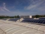 Lavaggio impianti fotovoltaici a tetto