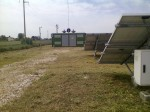 Trinciatura erba su fotovoltaico